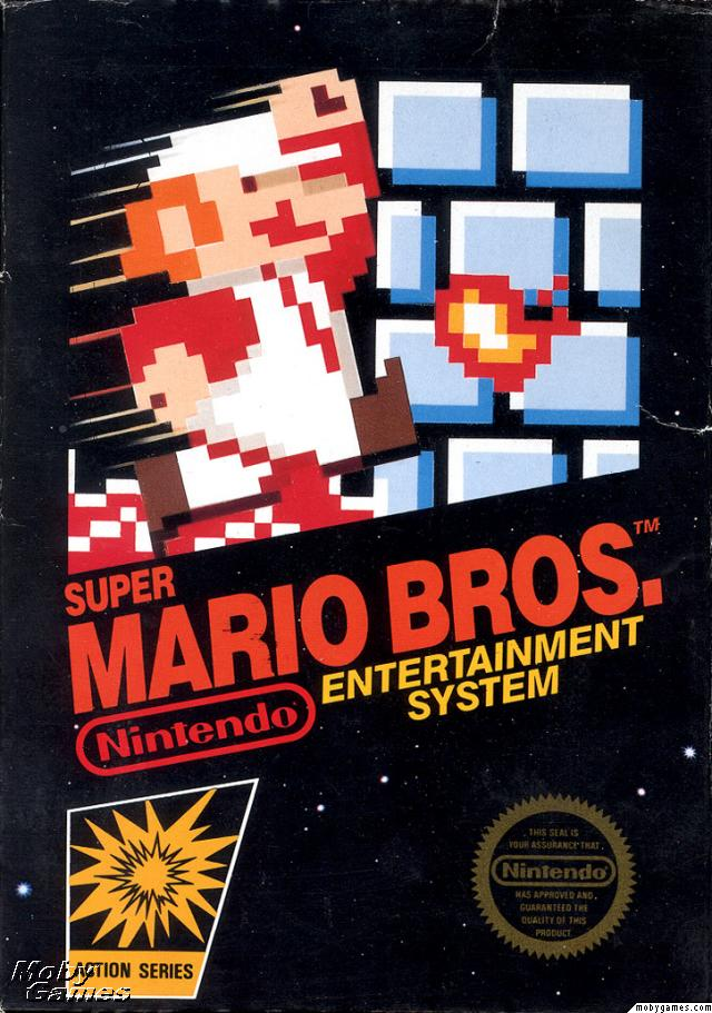 Super Mario Brosfront box cover