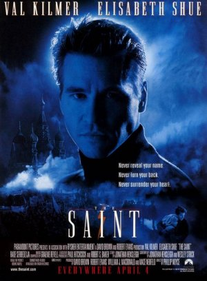 The Saint (1997) English Movie poster