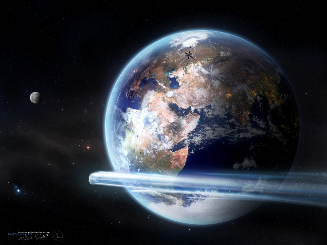 Earth 2584 by Taenaron