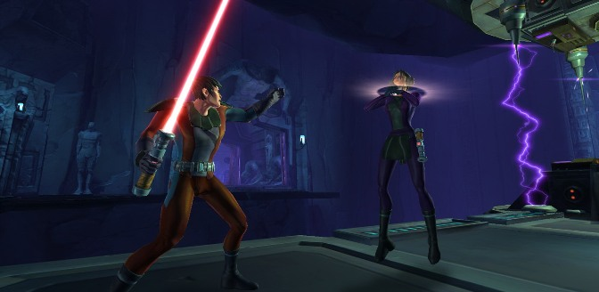 Star Wars: The Old Republic; Gameplay screenshot 02