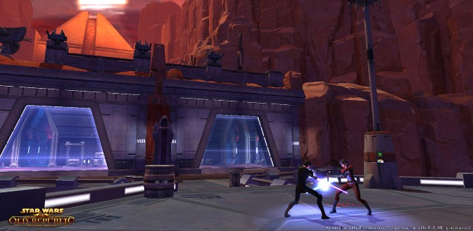 Star Wars: The Old Republic; Gameplay screenshot 04