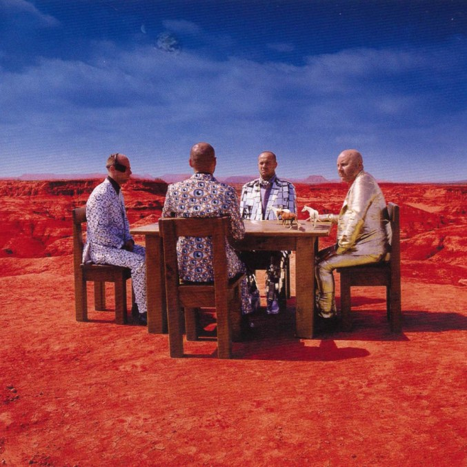 Muse album cover: Black Holes and Revelations
