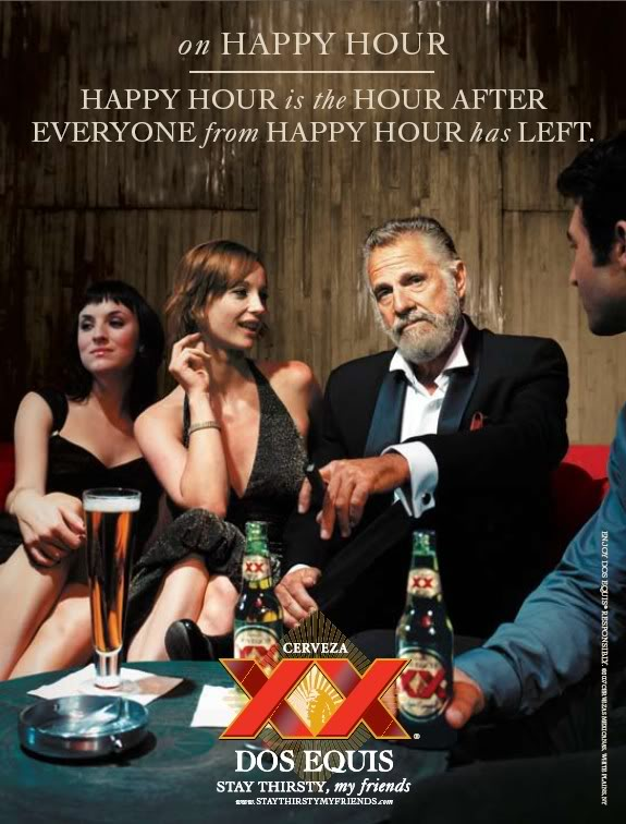Dos Equis Commercial: The Most Interesting Man In The World