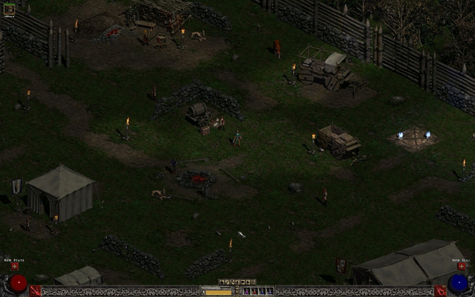 Diablo II: Rogue Encampment