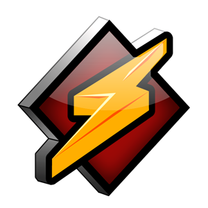 Winamp Logo Dark Transparent