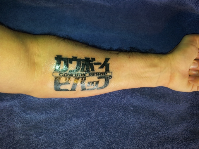 Cowboy Bebop -  Tattoo